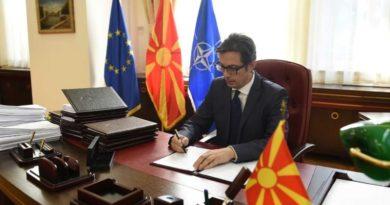Pendarovski deri të enjte duhet të deklarohet rreth Ligjit për regjistrimin e popullsisë