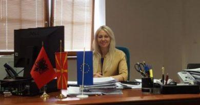 Ish ministrja e BDl-së Shyrete Elezi ka nënshkruar 5 milionë euro për komunat maqedonase zero për shqiptarët (Dokument)