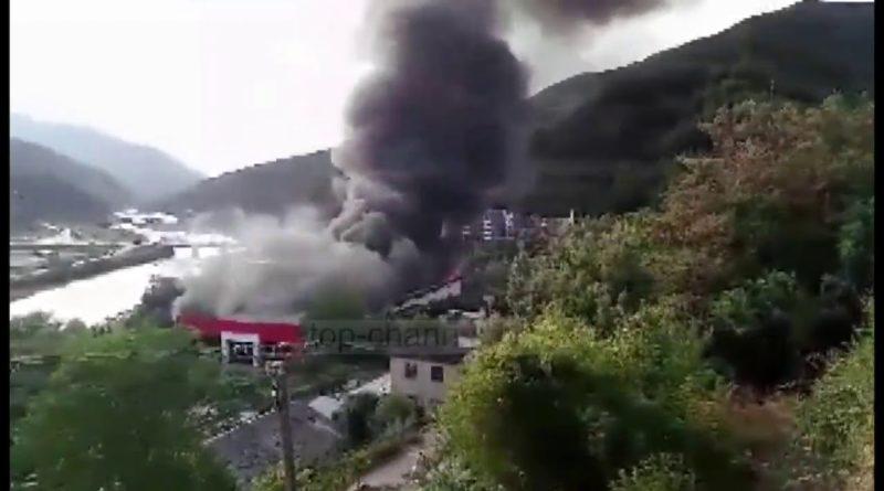 Shpërthim në Shqipëri, pamjet si në Liban (Video)