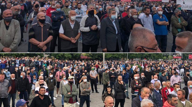 Nga Tetova me protesta masive kërkohet ulja e çmimit të energjisë elektrike