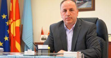 """Adnan Azizi: Sot, edhe zyrtarisht mora detyrën e drejtorit të """"Hekurudhave të Maqedonisë së Veriut""""."""