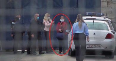 Pamje nga arritja e Jankulloskës në burgun e Idrizovës (Video)