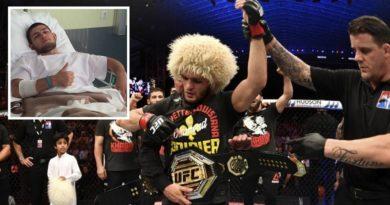 Pas triumfit të madh në UFC, Khabib përfundon në spital!