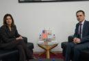 Kryetari i Lëvizjes BESA, Bilall Kasami bashkëbisedon me ambasadoren amerikane Bërns