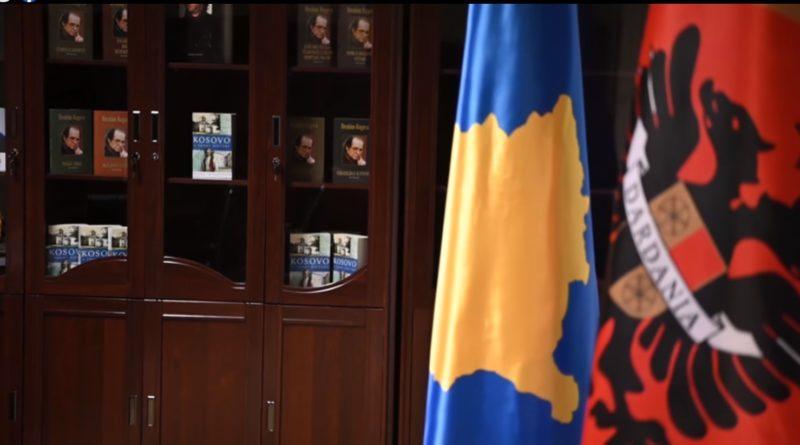 """Vjosa Osmani: Biblioteka Presidenciale do të emërtohet """"Dr. Ibrahim Rugova"""""""