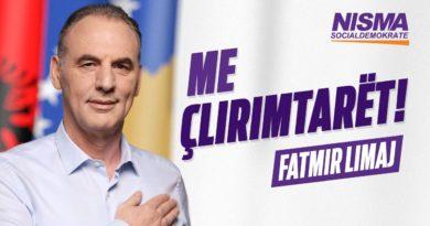 """""""Me Çlirimtarët"""", slogani i Nismës së Limajt"""