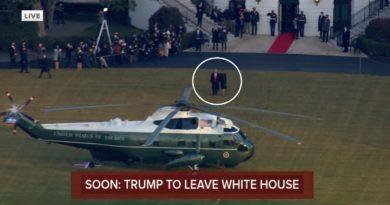 Ish Presidenti, Donald Trump largohet nga Shtëpia e Bardhë (Video)