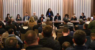 Vjosa Osmani në Prizren: Referendumi i 14 shkurtit – reflektim i vullnetit të qytetarëve