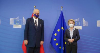 Ursula von der Leyen: E ardhmja e Shqipërisë është në BE, negociatat duhet të fillojnë