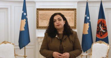 Osmani fton BE-në të ushtrojë presion mbi Serbinë që të ndalë provokimet ndaj Kosovës