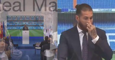 VIDEO/Prekëse – Ramos përlotet kur njofton largimin nga Reali