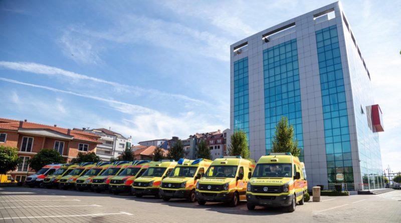 """""""Ecolog International"""" dhuron dhjetë autoambulanca në Maqedoninë e Veriut"""