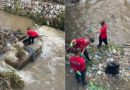 """""""Ballistët"""" në aksion, pastrojnë lumin Shkumbin (Foto)"""