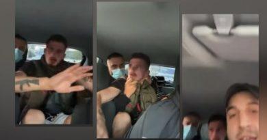 Rrëmbehet 'Mbreti i Instagramit', të rinjtë e shajnë dhe godasin brenda në makinë (Video)