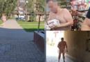 Prokurori del 'nudo' në rrugët e qytetit (Video)