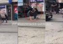 E tmerrshme: Një djalë dhe një grua rrahin mizorisht një vajzë në mes të Pejës